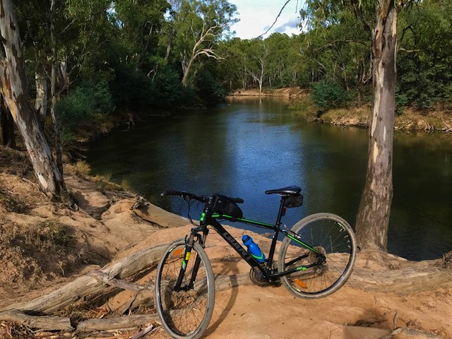 Riding the Goulburn River Shared Path – Shepparton
